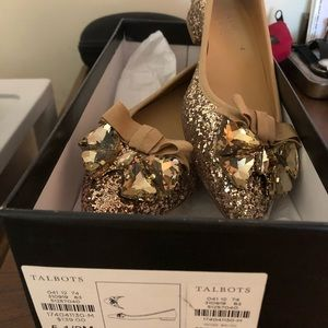 Brand New Talbots Edison Bow & Jewels Shoes size 6